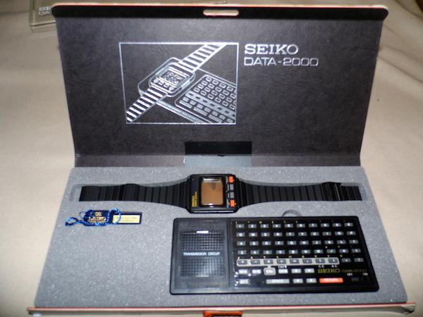 Verdens første computer-armbåndsur. Billede udlånt af Joe Haupt.