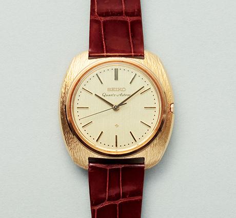 Seiko Quartz Astron, verdens første quartz armbåndsur.