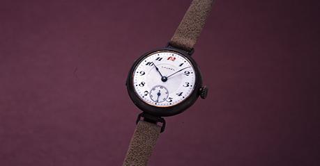 Et af de første armbåndsure fra Seiko solgt under Laurel navnet. Billede udlånt af The Seiko Museum.