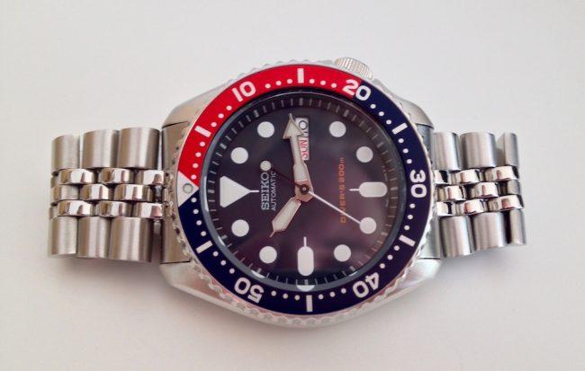 Seiko Skx 009 fra min ur-samling