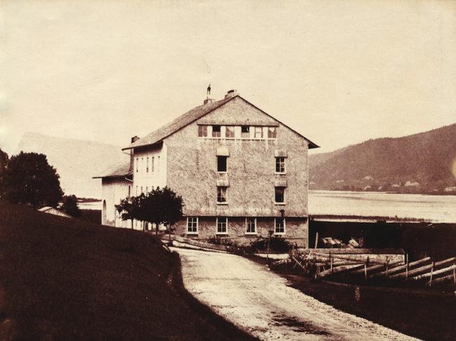 Charles Antoine Lecoultres værksted, hvor det hele begyndte.