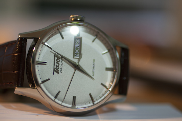 Tissot heritage visodate dress watch