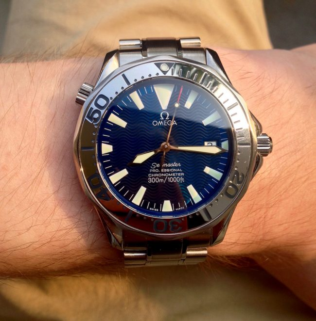 "Omega Seamaster ref 2255.80.00 ""Electric Blue"""